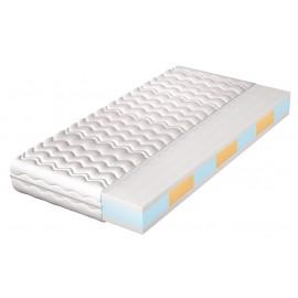 Dwudrzwiowa szafa do pokoju biały/dąb złoty IWA12